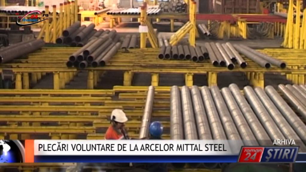 PLECĂRI VOLUNTARE DE LA ARCELOR MITTAL STEEL