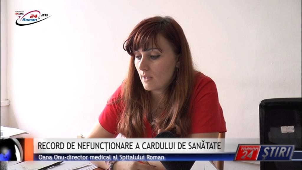 RECORD DE NEFUNCŢIONARE A CARDULUI DE SANĂTATE