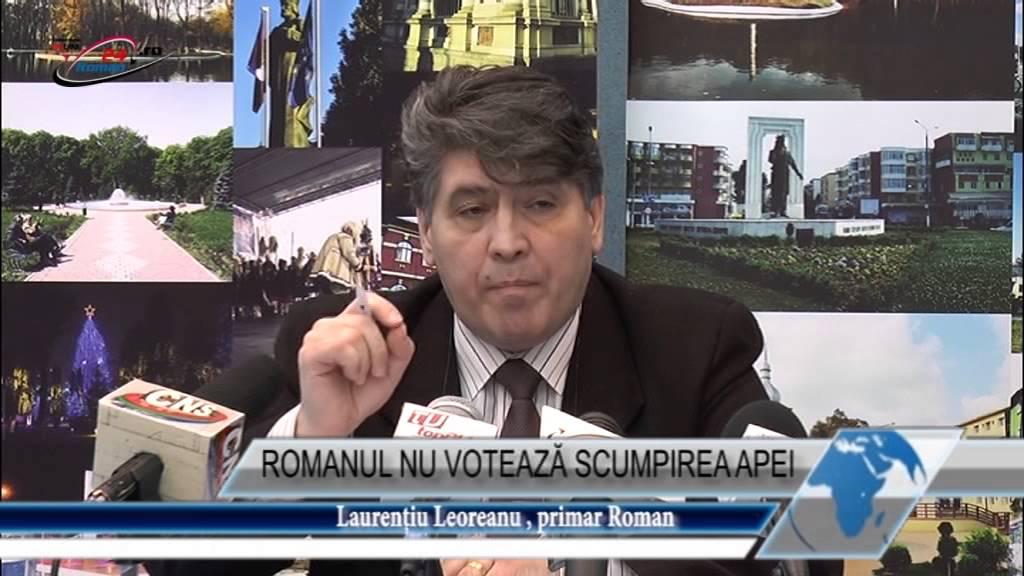 ROMANUL NU VOTEAZĂ SCUMPIREA APEI