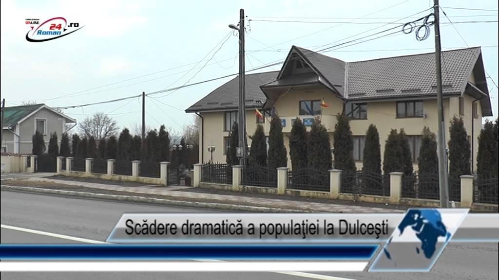 Scădere dramatică a populaţiei la Dulceşti