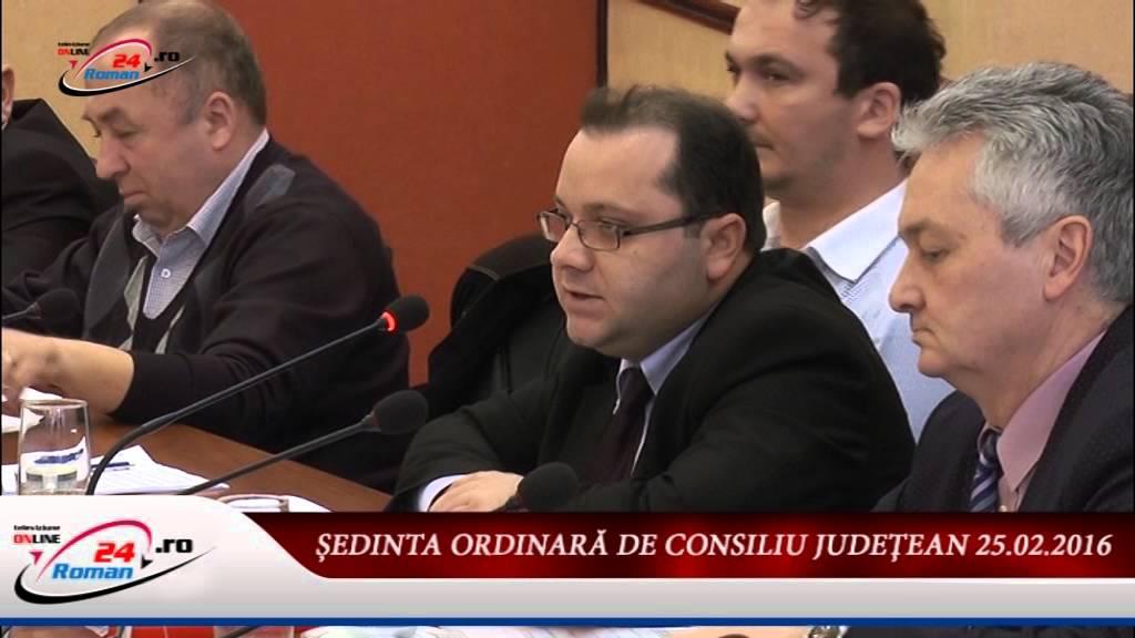 ŞEDINTA DE CONSILIU JUDEŢEAN 25.02.2016