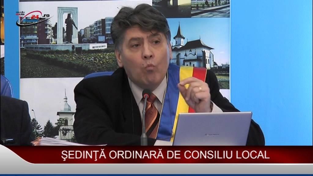 ŞEDINŢĂ ORDINARĂ DE CONSILIU LOCAL 28.01.2016