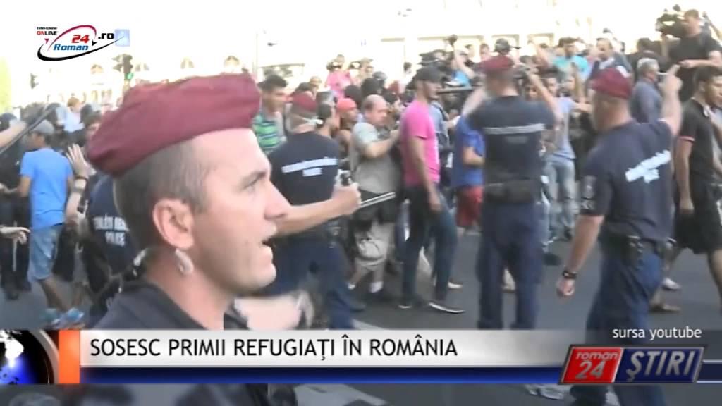 SOSESC PRIMII REFUGIAŢI ÎN ROMÂNIA
