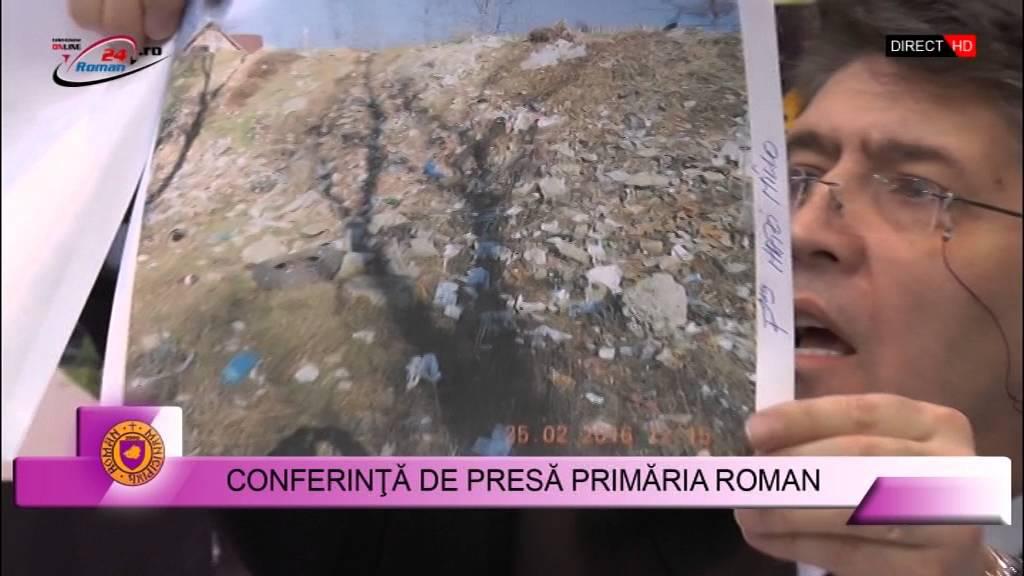 CONFERINTA DE PRESA PRIMARIA ROMAN – 7.03.2016