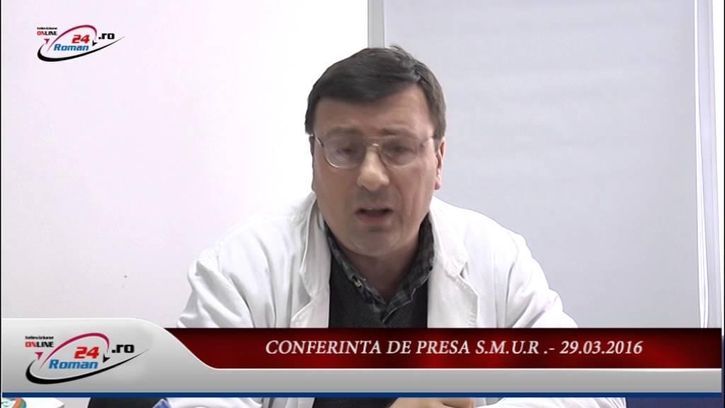 CONFERINTA DE PRESA SMUR – 25.03.2016