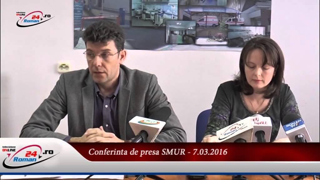 Conferinta de presa Spitalul Municipal de Urgenta Roman -7.03.2016