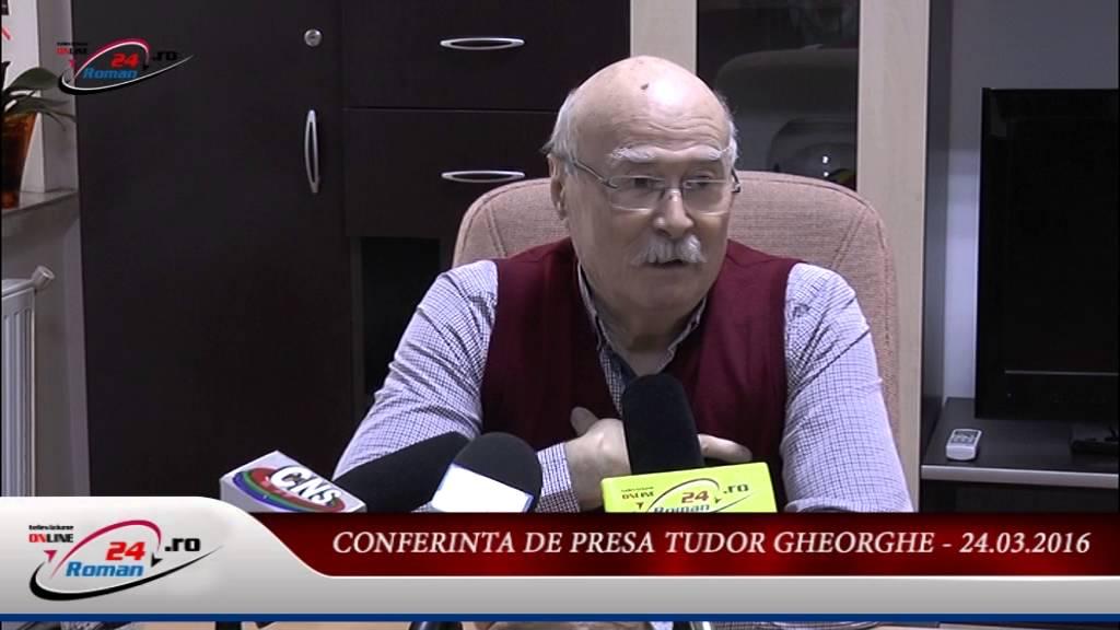 CONFERINTA DE PRESA TUDOR GHEORGHE – 25.03.2016
