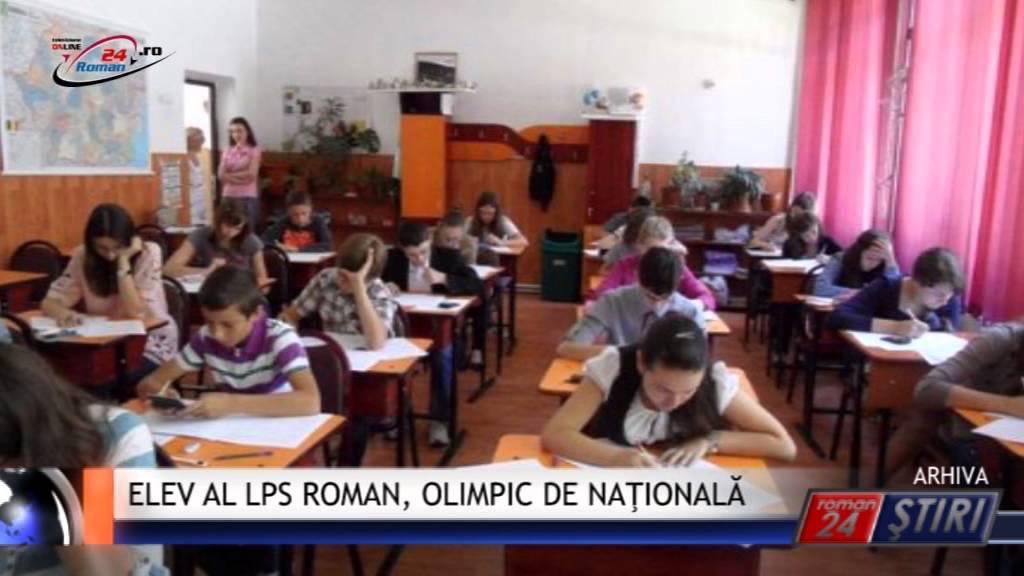 ELEV AL LPS ROMAN, OLIMPIC DE NAŢIONALĂ