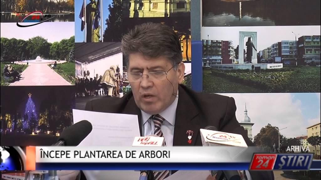 ÎNCEPE PLANTAREA DE ARBORI