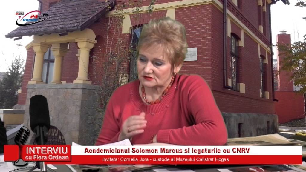 INTERVIU CU FLORA ORDEAN – IN MEMORIAM SOLOMON MARCUS