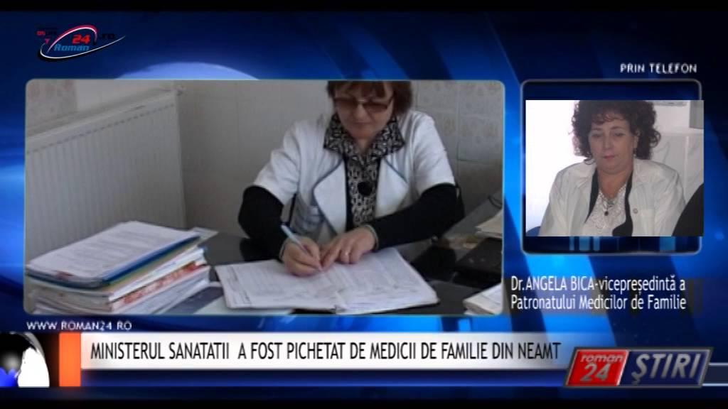 MINISTERUL SANATATII  A FOST PICHETAT DE MEDICII DE FAMILIE DIN NEAMT