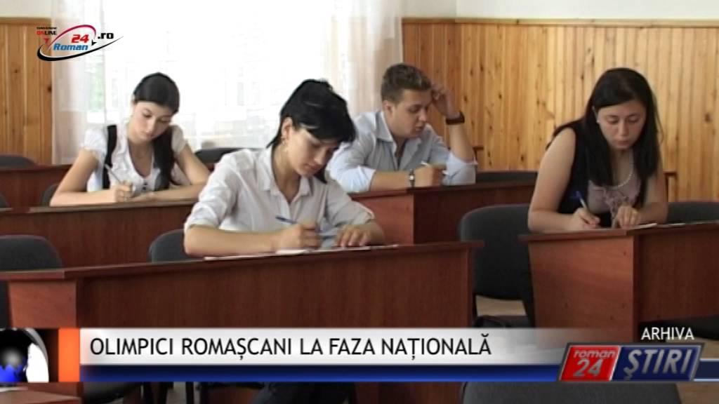 OLIMPICI ROMAȘCANI LA FAZA NAȚIONALĂ
