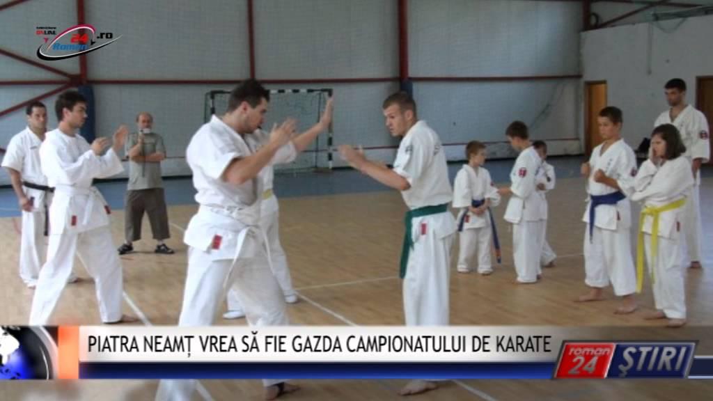 PIATRA NEAMȚ VREA SĂ FIE GAZDA CAMPIONATULUI DE KARATE