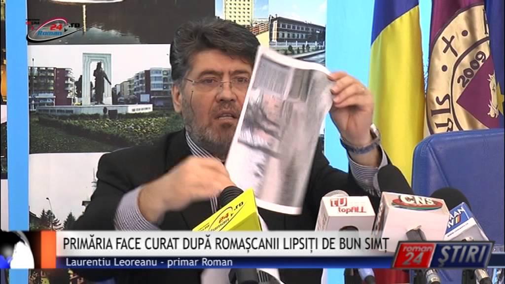 PRIMĂRIA FACE CURAT DUPĂ ROMAȘCANII LIPSIȚI DE BUN SIMȚ