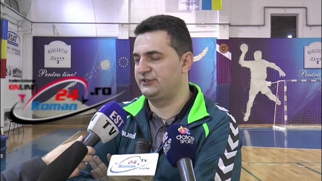 Primele declaratii dupa meciul Hcm Roman – Csm Bucuresti