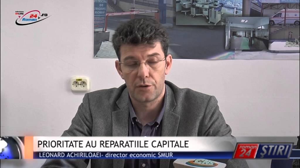 PRIORITATE AU REPARATIILE CAPITALE