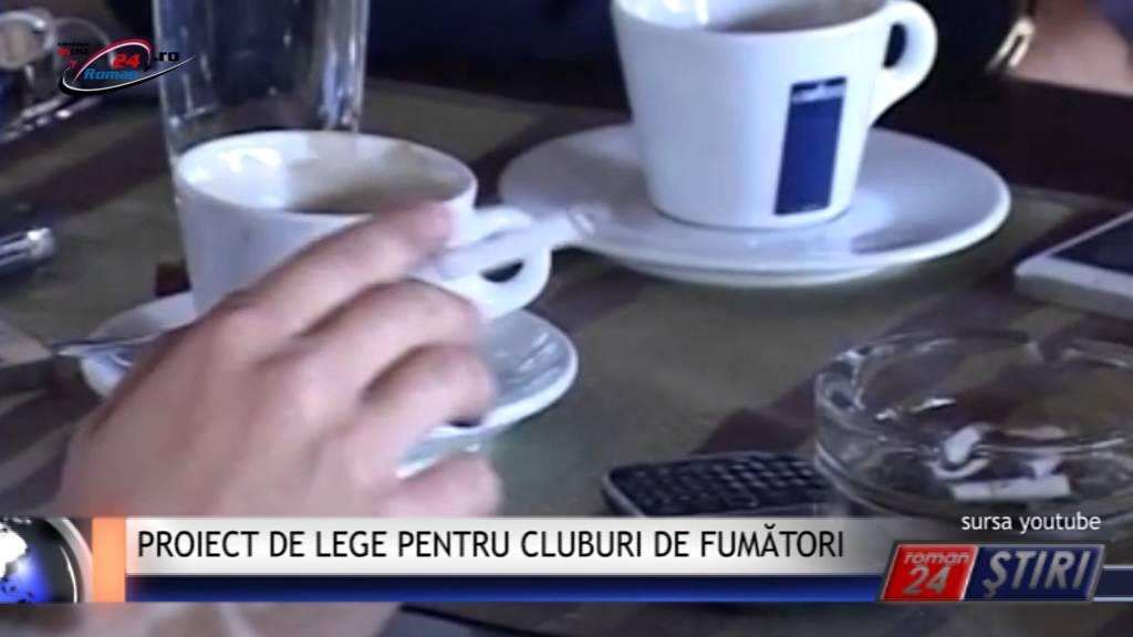 PROIECT DE LEGE PENTRU CLUBURI DE FUMĂTORI