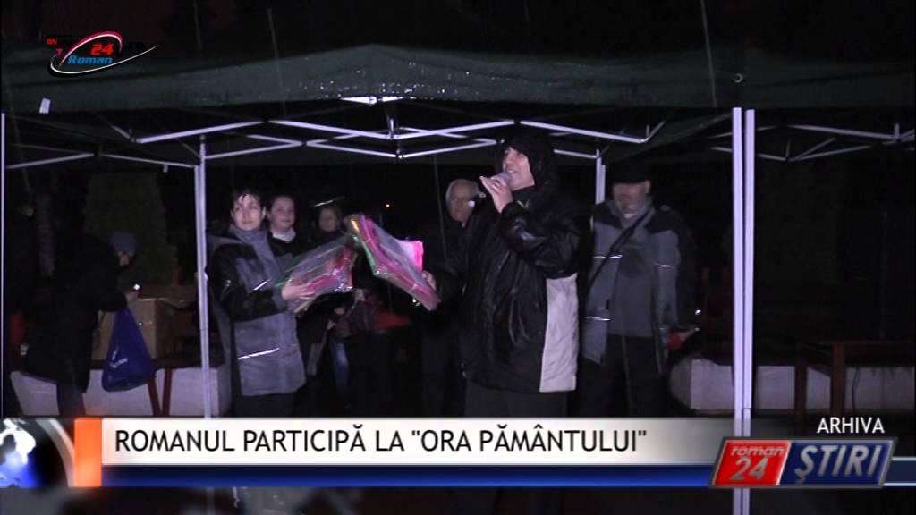 ROMANUL PARTICIPĂ LA ORA PĂMÂNTULUI