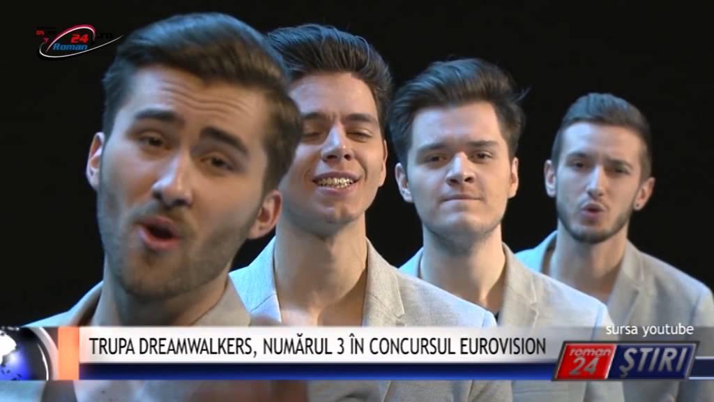 TRUPA DREAMWALKERS NUMĂRUL 3 ÎN CONCURSUL EUROVISION