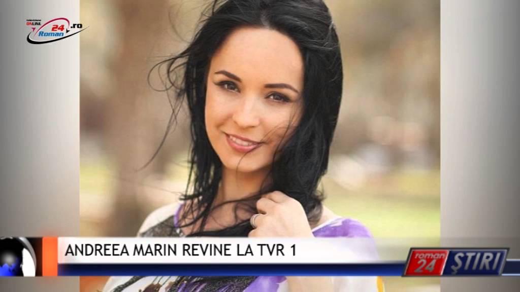 ANDREEA MARIN REVINE LA TVR 1