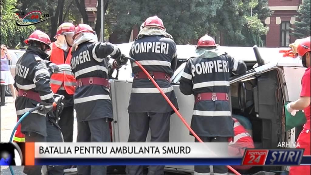BATALIE PENTRU AMBULANTA SMURD