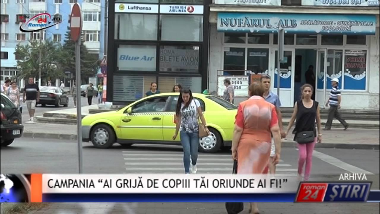 """CAMPANIA """"AI GRIJĂ DE COPIII TĂI ORIUNDE AI FI!"""""""