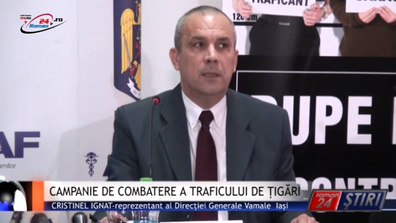 CAMPANIE DE COMBATERE A TRAFICULUI DE ȚIGĂRI