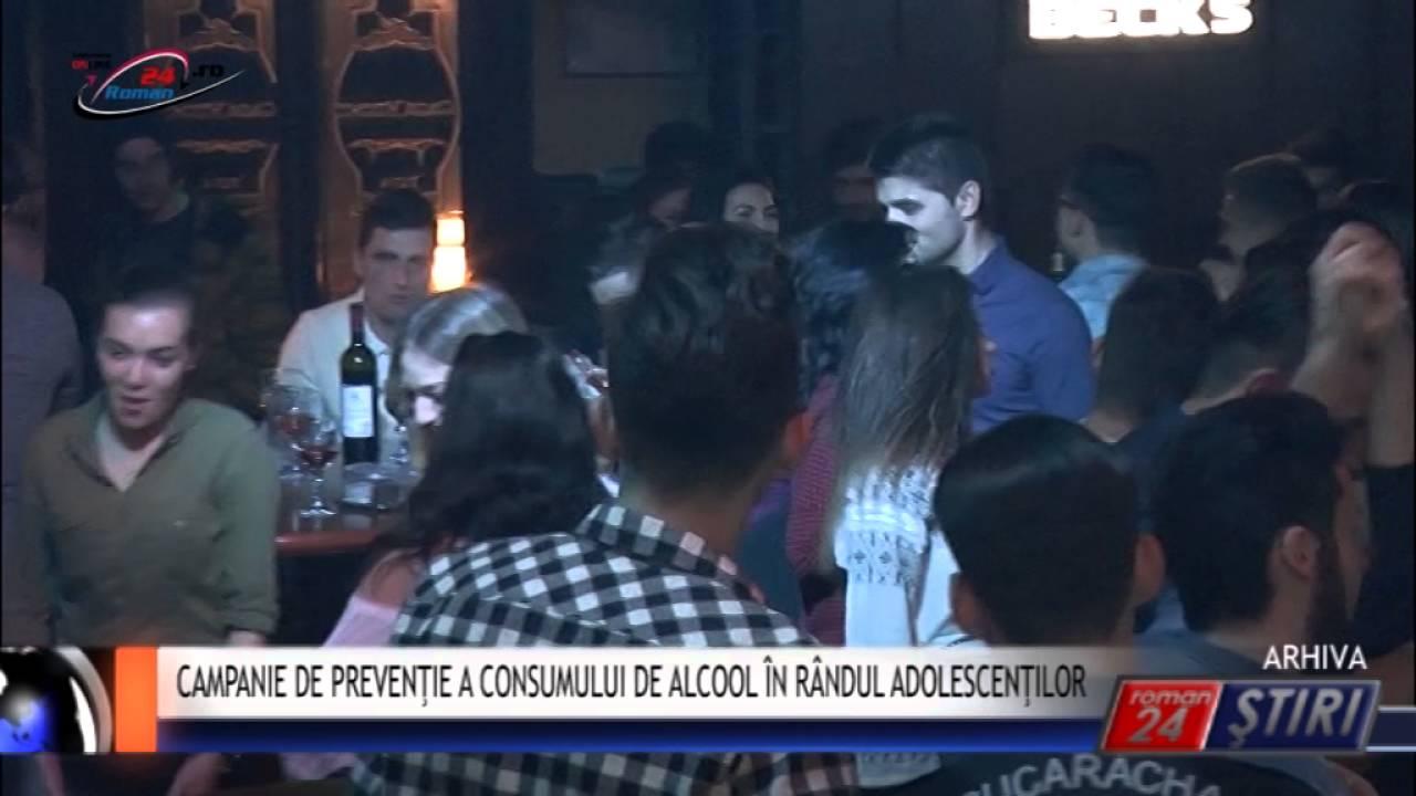 CAMPANIE DE PREVENŢIE A CONSUMULUI DE ALCOOL ÎN RÂNDUL ADOLESCENŢILOR