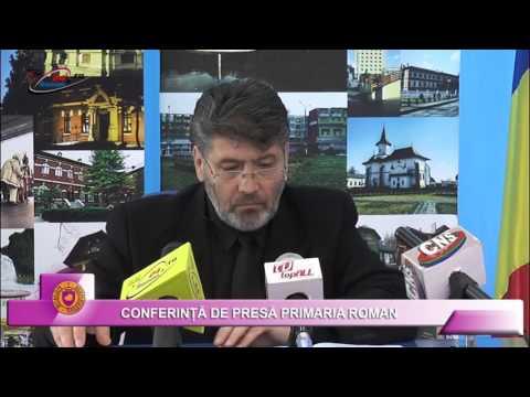 CONFERINTA DE PRESA PRIIMARIA ROMAN – 12.04.2016