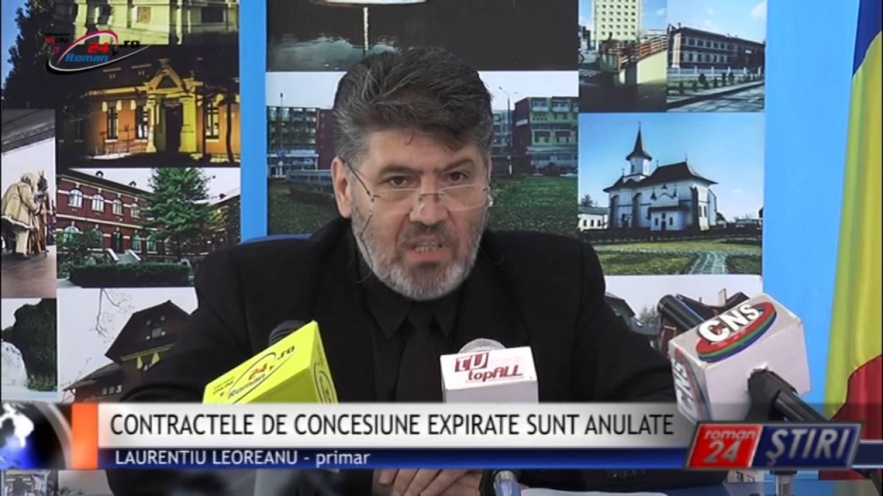 CONTRACTELE DE CONCESIUNE EXPIRATE SUNT ANULATE