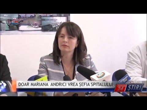 DOAR MARIANA ANDRICI VREA ȘEFIA SPITALULUI