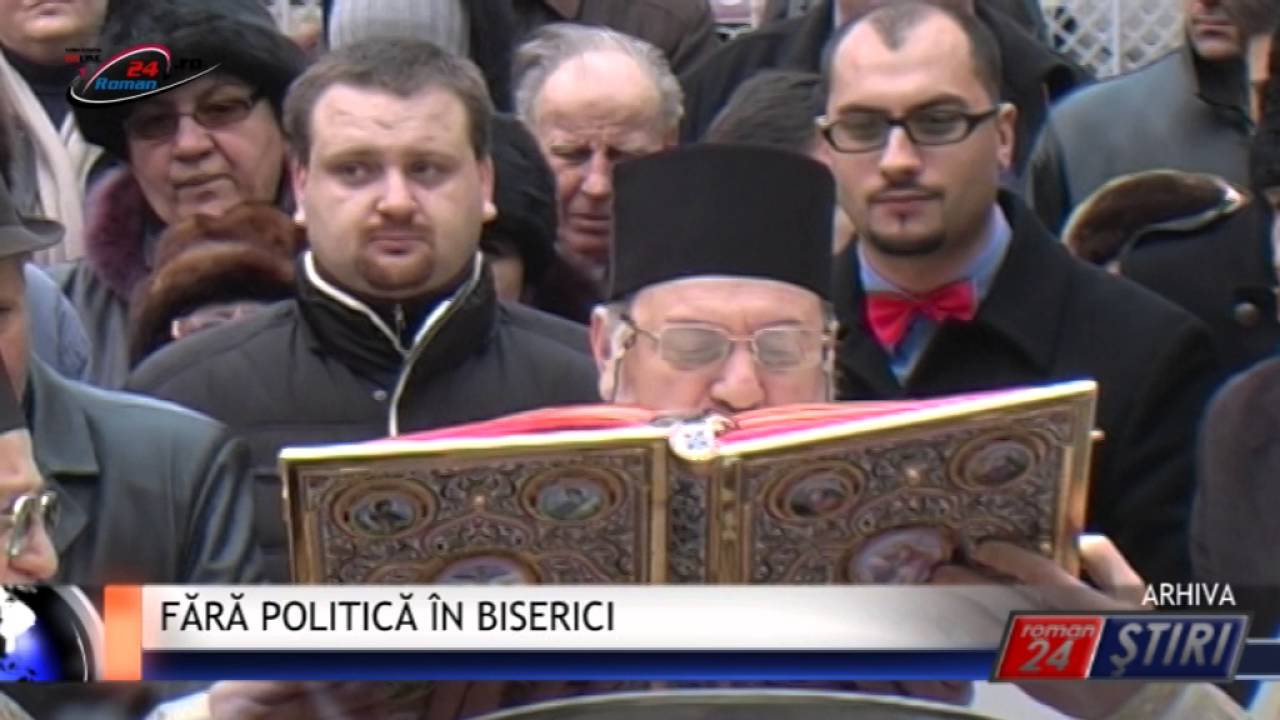 FĂRĂ POLITICĂ ÎN BISERICI
