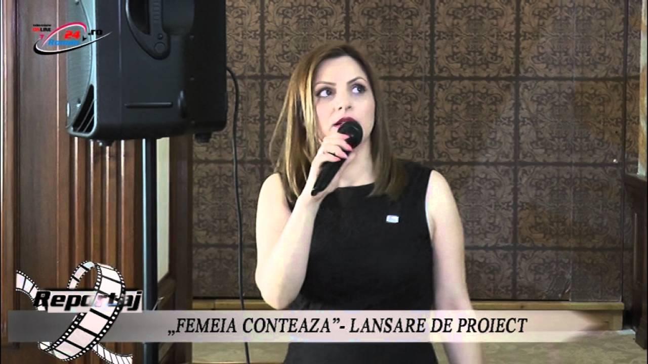 """""""FEMEIA CONTEAZA""""- LANSARE DE PROIECT(partea a II-a)"""