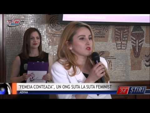 FEMEIA CONTEAZA, UN ONG SUTA LA SUTA FEMINIST