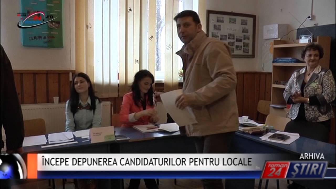 ÎNCEPE DEPUNEREA CANDIDATURILOR PENTRU LOCALE