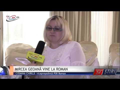 MIRCEA GEOANĂ VINE LA ROMAN