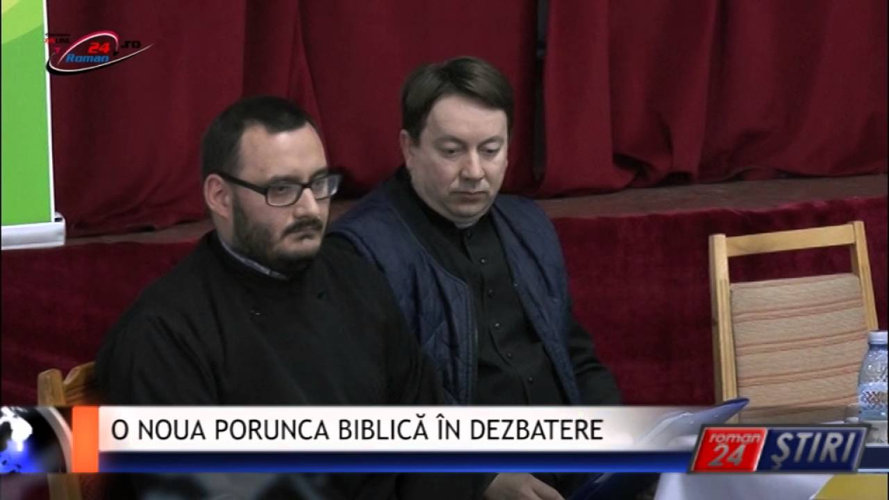 O NOUA PORUNCA BIBLICĂ ÎN DEZBATERE