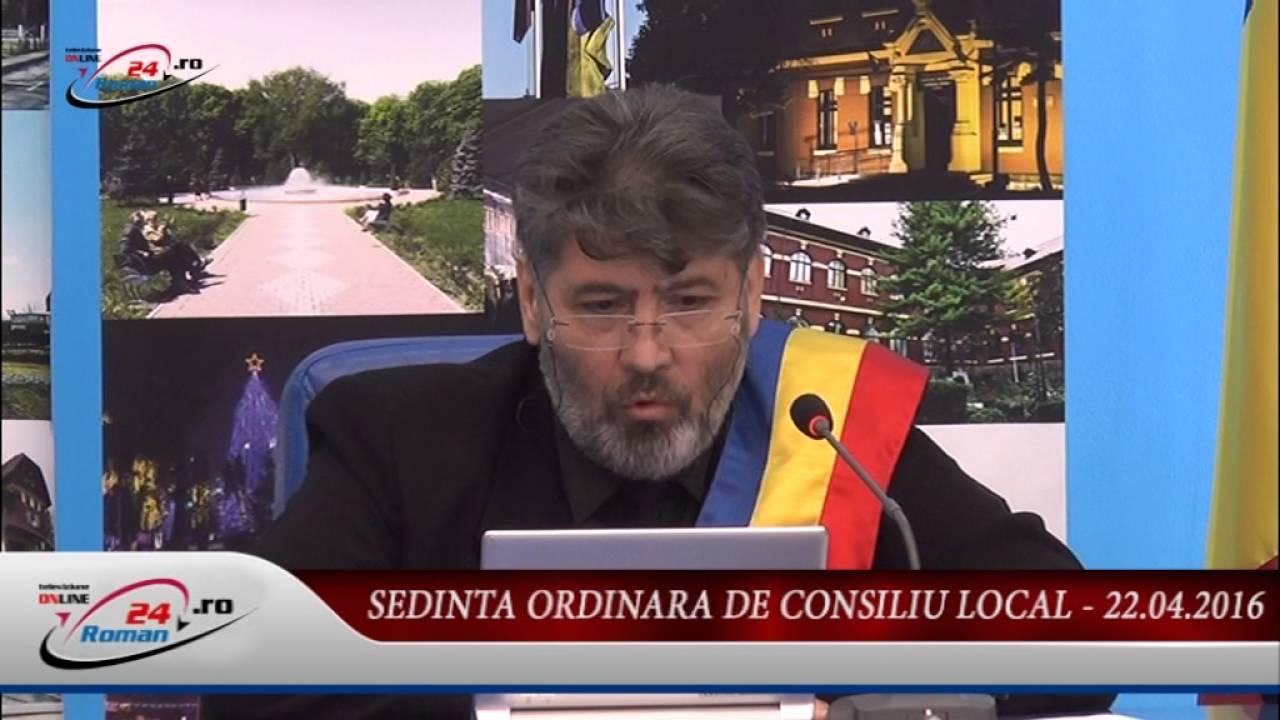 SEDINTA ORDINARA DE CONSILIU LOCAL – 22.04.2016