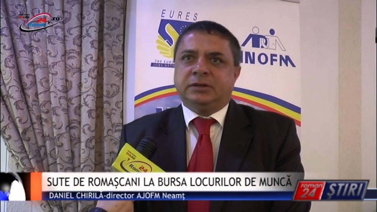 SUTE DE ROMAȘCANI LA BURSA LOCURILOR DE MUNCĂ