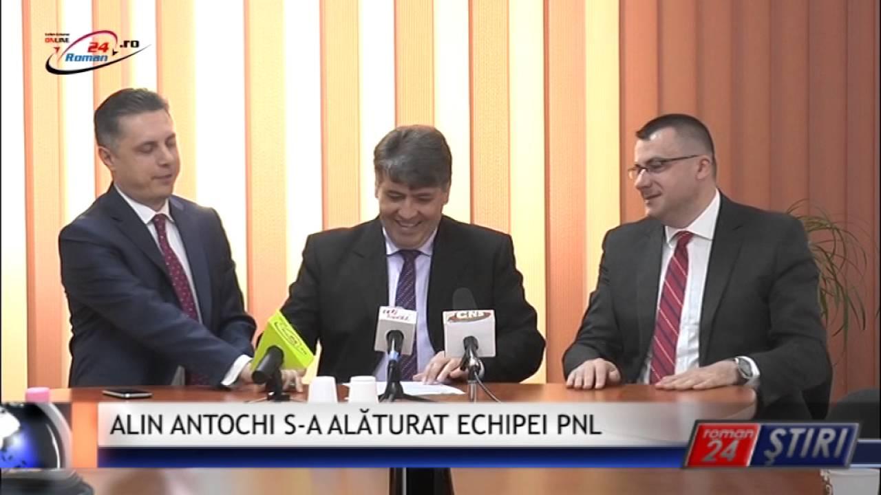 ALIN ANTOCHI S-A ALĂTURAT ECHIPEI PNL