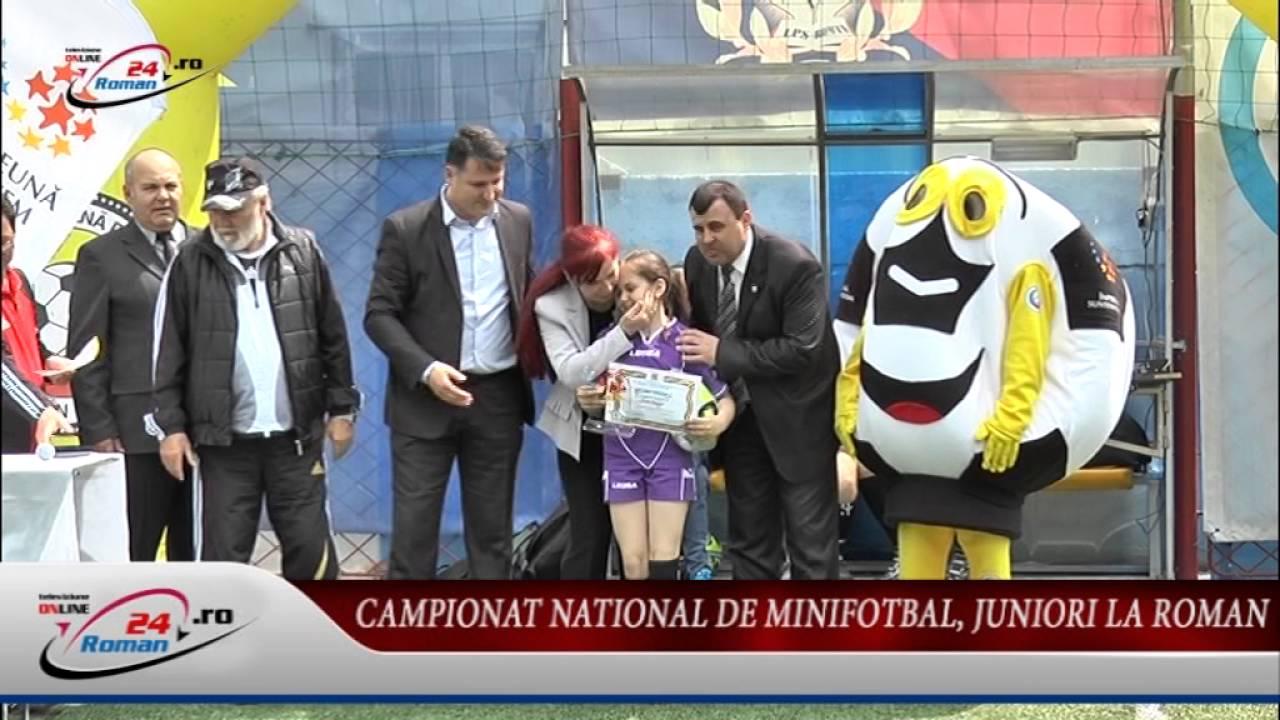 Campionat National de Minifotbal, Juniori la Roman