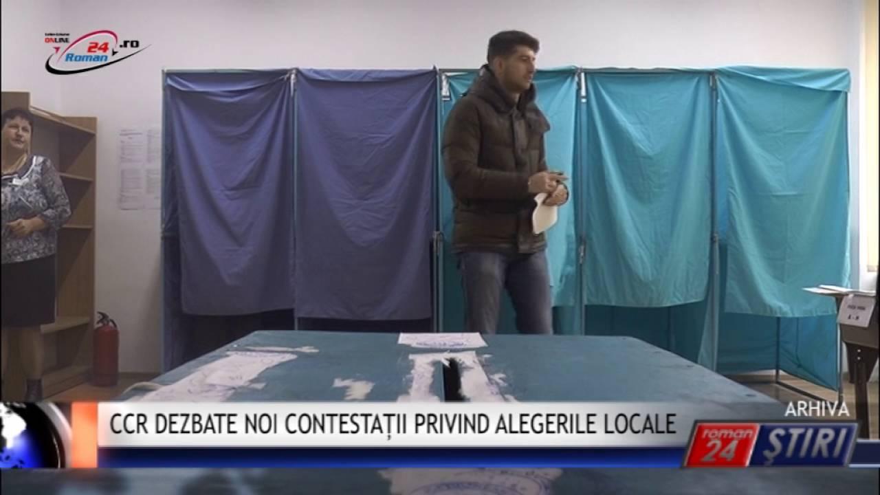 CCR DEZBATE NOI CONTESTAȚII PRIVIND ALEGERILE LOCALE