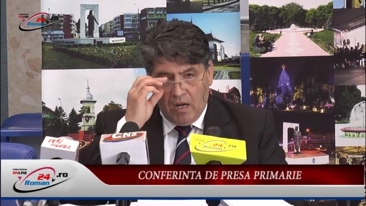 CONFERINTA DE PRESA PRIMARIA ROMAN – 23.05.2016