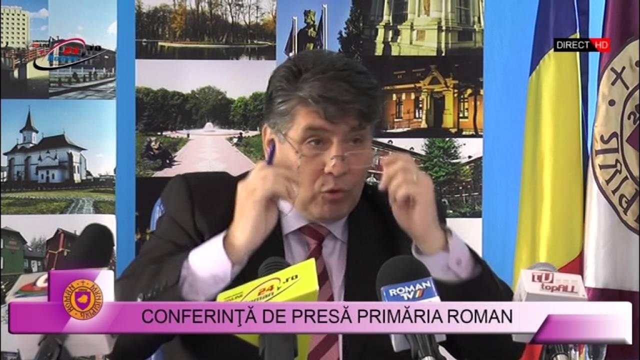CONFERINTA DE PRESA PRIMARIA ROMAN 04.05.2016