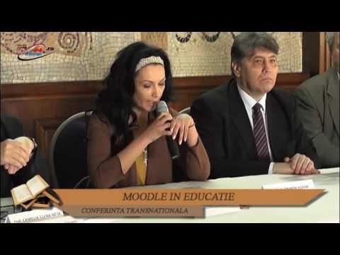 CONFERINTA TRANSNATIONALA – MOODLE IN EDUCATIE