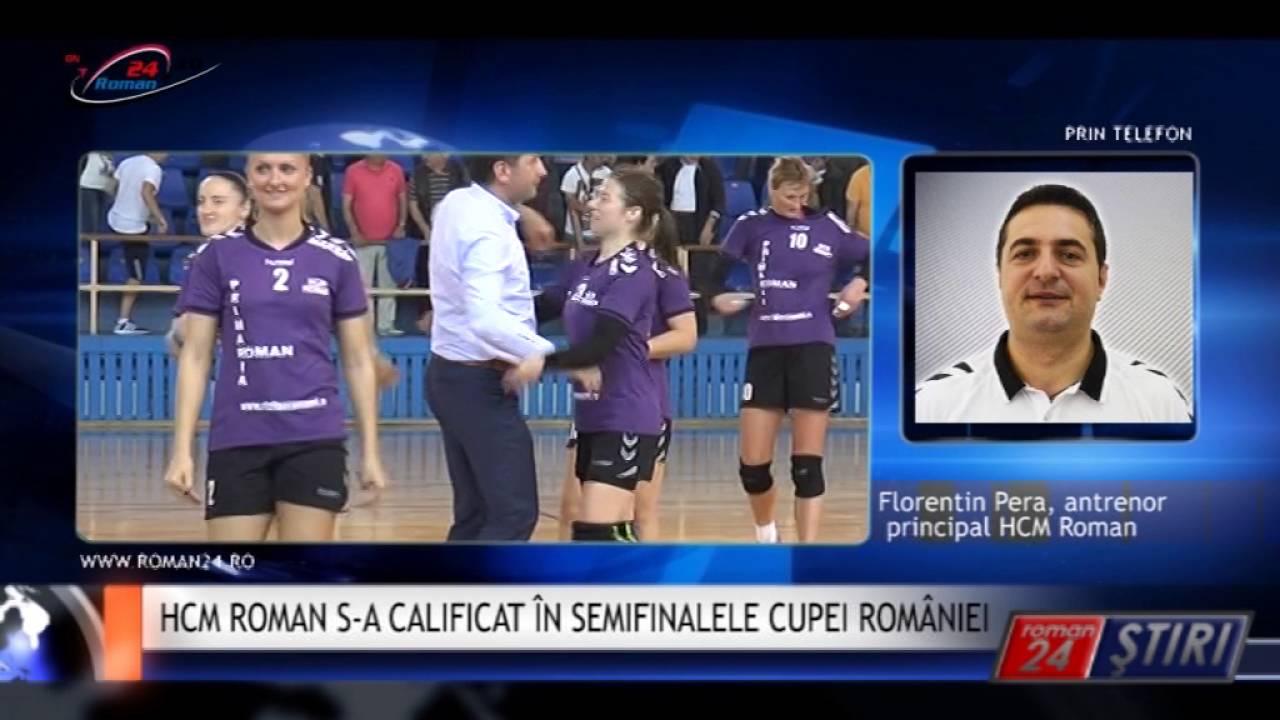 HCM ROMAN S-A CALIFICAT ÎN SEMIFINALELE CUPEI ROMÂNIEI