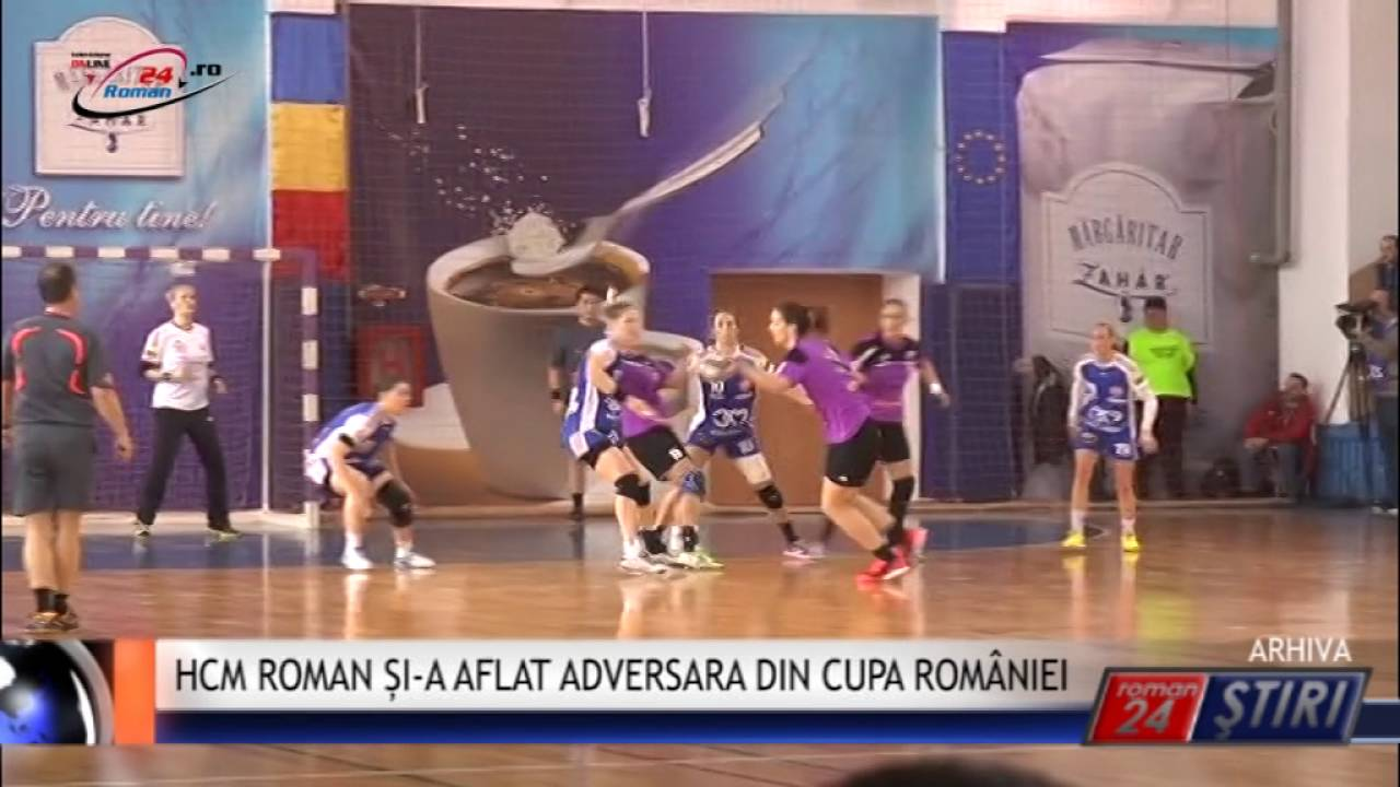 HCM ROMAN ȘI-A AFLAT ADVERSARA DIN CUPA ROMÂNIEI
