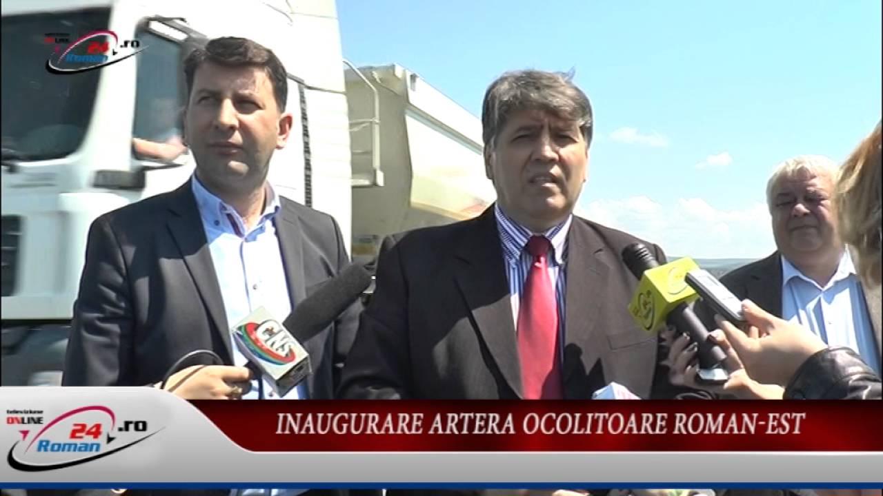 Inaugurare Artera Ocolitoare Roman-Est