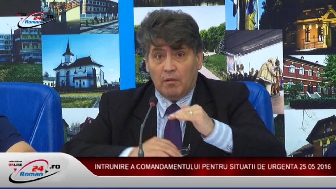 INTRUNIRE COMANDAMENT SITUATII DE URGENTA 25.05.2016