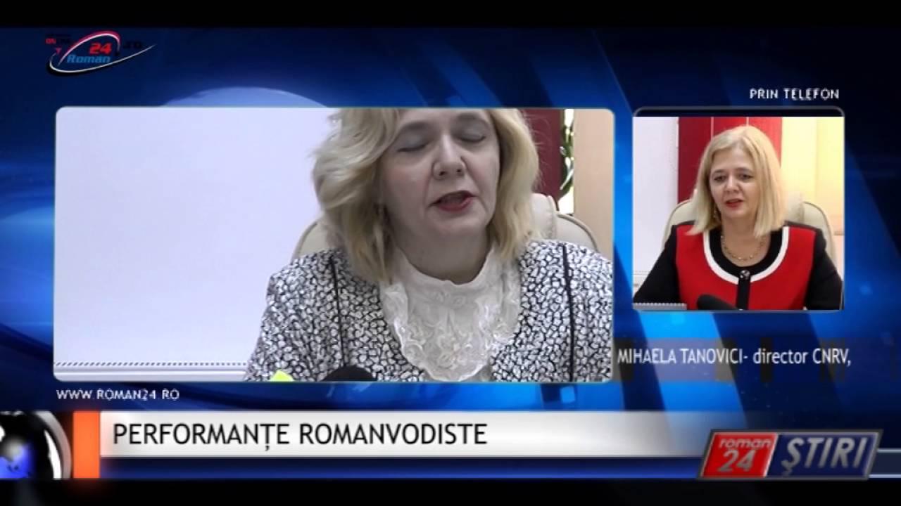 PERFORMANȚE ROMANVODISTE